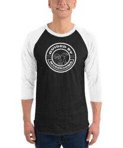Guided By Mushrooms Baseball Shirt